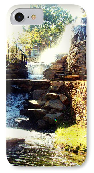 Finlay Park Fountain IPhone Case