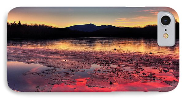 Fire And Ice At Price IPhone Case