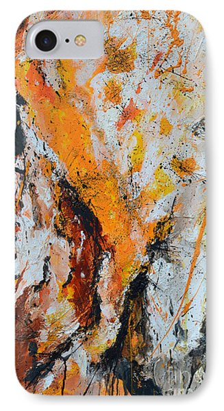 Fire And Passion - Abstract IPhone Case
