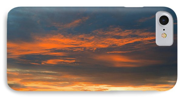 Fire In The Sky Sunset IPhone Case