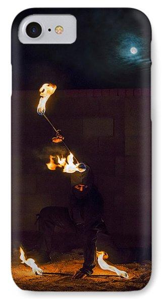 Fire Ninja IPhone Case