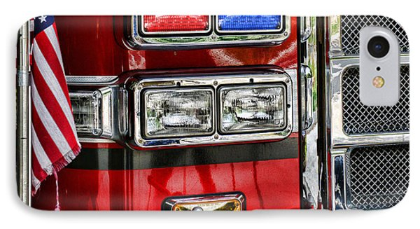 Fireman - Fire Engine IPhone Case