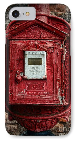 Fireman - The Fire Alarm Box IPhone Case