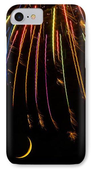 Firework Indian Headdress IPhone Case
