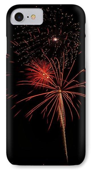 Fireworks 3 IPhone Case