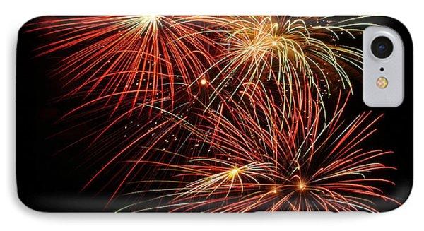 Fireworks 4 IPhone Case