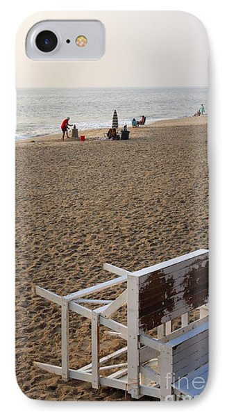 First On The Beach At Bethany Beach In Delaware IPhone Case