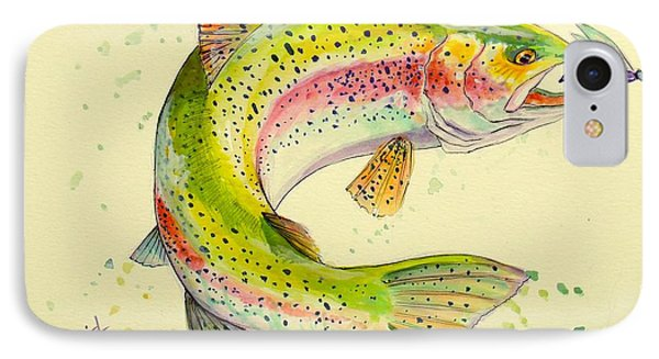 Fish After Dragon IPhone Case
