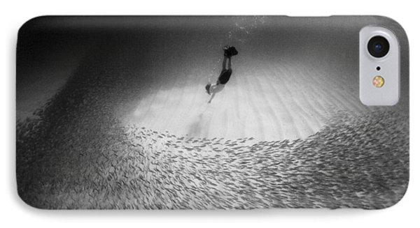 Fish Dive IPhone Case