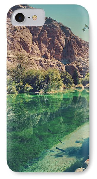 Desert iPhone 8 Case - Fish Gotta Swim by Laurie Search