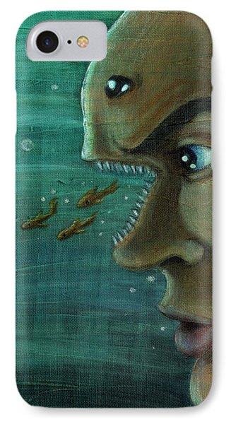 Fish Mind IPhone Case