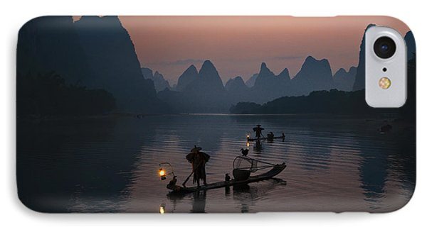 Fisherman Of The Li River IPhone Case