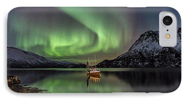 Fishing Boat II IPhone Case