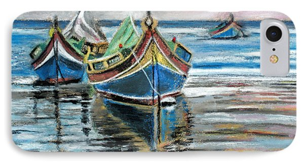 Fishing Boats At Rest IPhone Case
