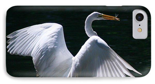 Fishing Egret IPhone Case