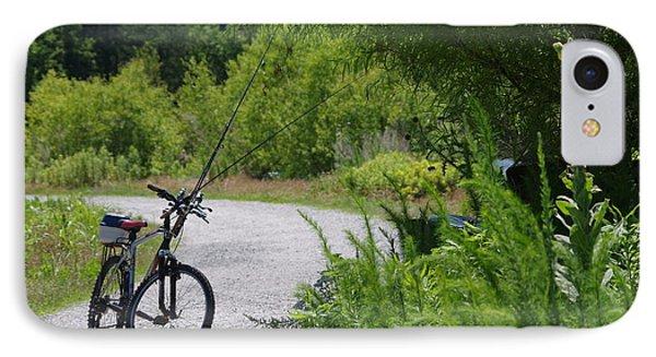 Fishing Ride IPhone Case