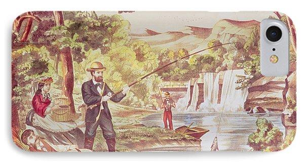 Fishing Scene IPhone Case