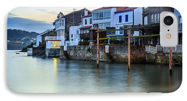 Fishing Town Of Redes Galicia Spain IPhone Case