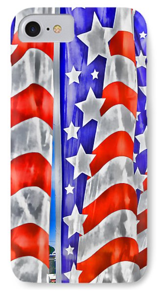 Flag Banners Wowc IPhone Case