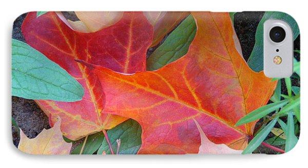 Flaming Autumn IPhone Case