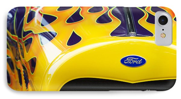 Flaming Hot Rod IPhone Case