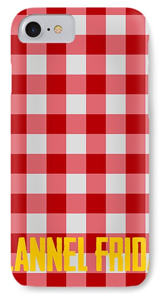 Flannel Friday IPhone Case