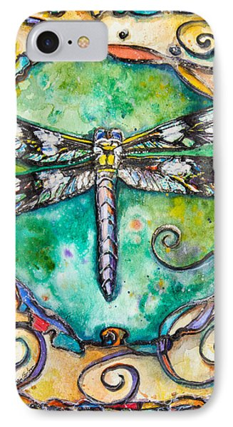 Flashy Dragonfly Children Of The Earth Series IPhone Case