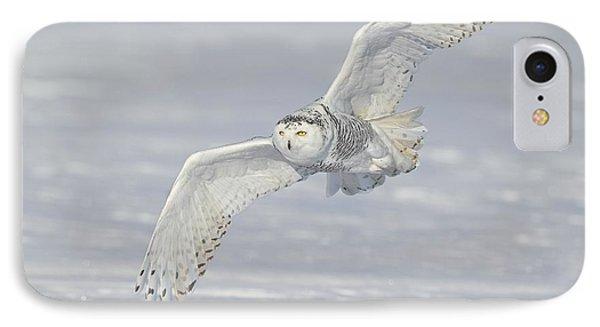 Flight Of The Snowy IPhone Case