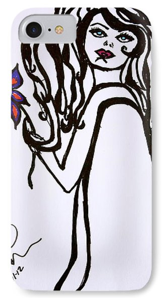 Flor De Amber IPhone Case