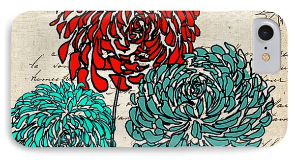 Whimsical iPhone 8 Case - Floral Delight Iv by Lourry Legarde