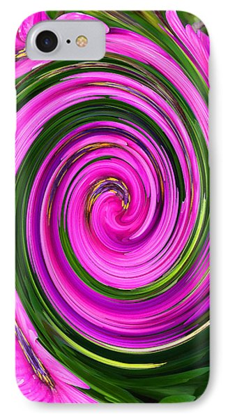 Floral Swirl 2 IPhone Case