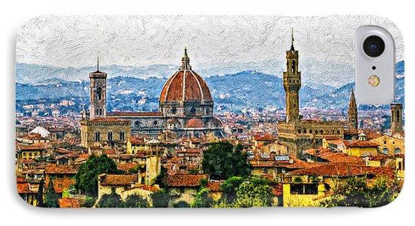 Florence Impasto IPhone Case