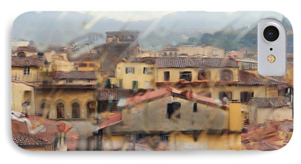 Florence In The Rain IPhone Case
