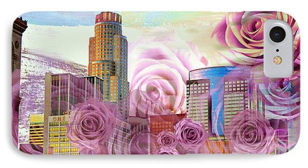 Las Flores De Los Angeles  IPhone Case