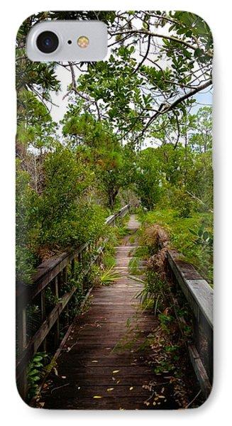 Florida Foliage IPhone Case