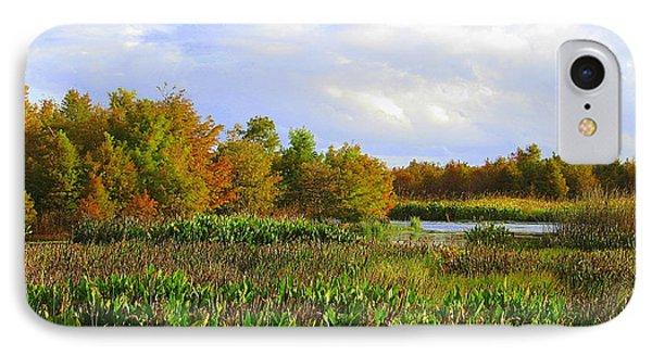 Florida Wetlands August IPhone Case