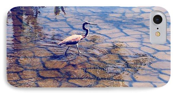 Florida Wetlands Wading Heron IPhone Case