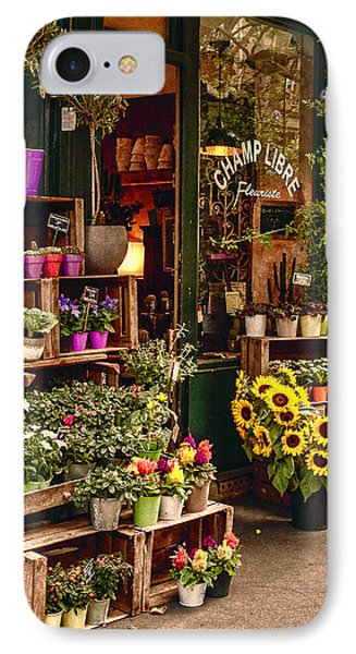 Florist - Champ Libre IPhone Case