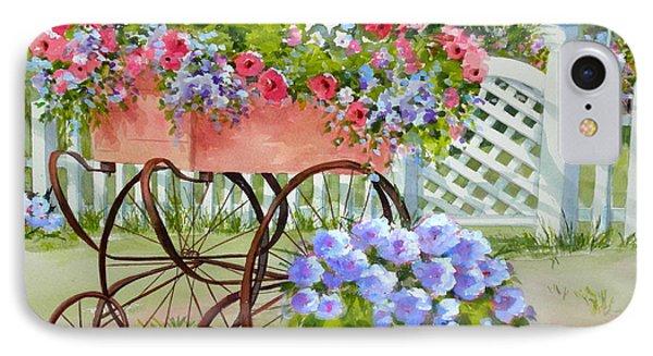 Flower Cart IPhone Case