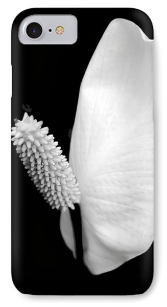 Lily iPhone 8 Case - Flower Power Peace Lily by Tom Mc Nemar
