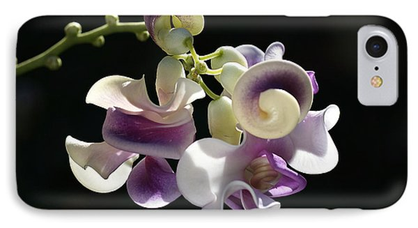 Flower-snail Flower IPhone Case