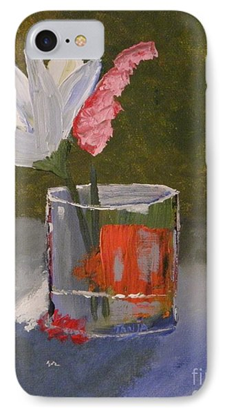 Flowers In A Glass IPhone Case