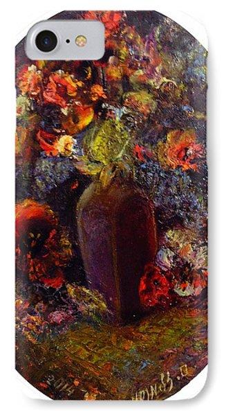 Flowers In Vase IPhone Case