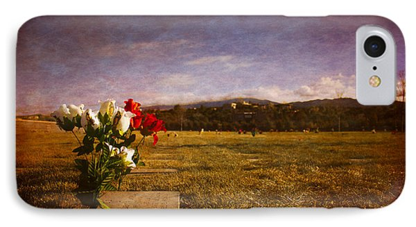 Flowers On Memorial IPhone Case