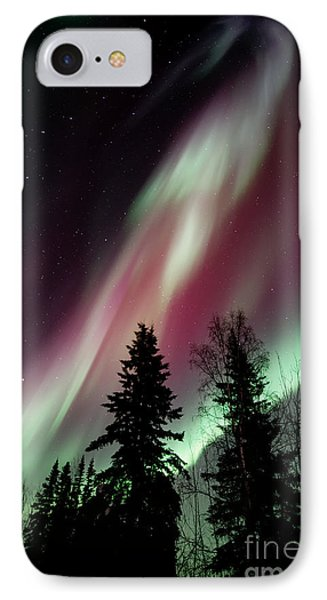 Beautiful Nature iPhone 8 Case - Flowing Colours by Priska Wettstein
