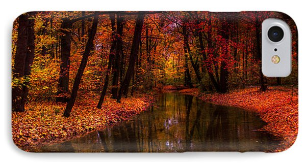 Flowing Through The Colors Of Fall IPhone Case