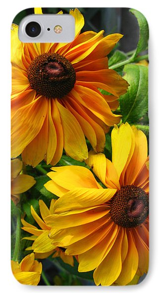 Fluffy Yellows IPhone Case