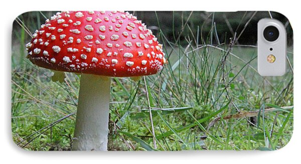 Fly Agaric In The Grass IPhone Case