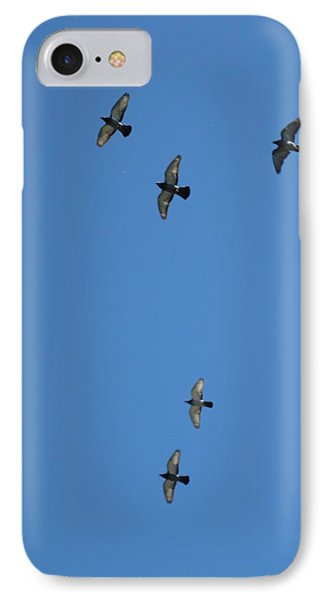 Fly Through The Sky's Ceiling IPhone Case