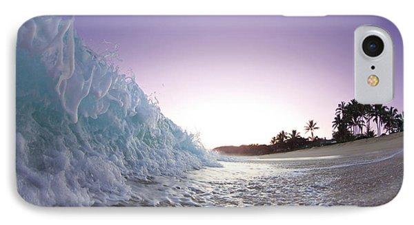 Sea iPhone 8 Case - Foam Wall by Sean Davey